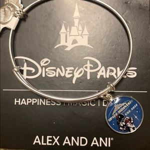 Disney Alex & Ani Space Mountain Bangle